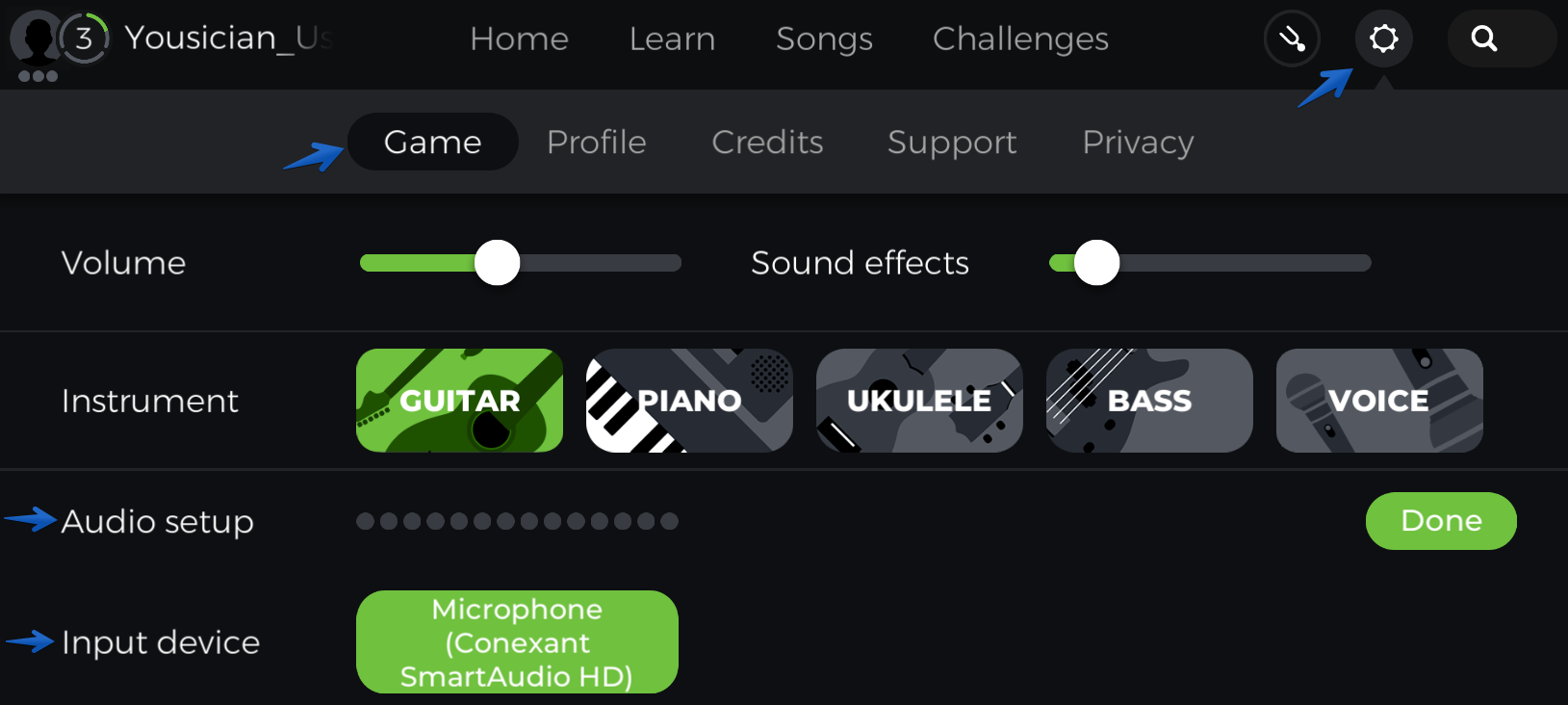 Guitar Sound Recognition Issues Yousician Support