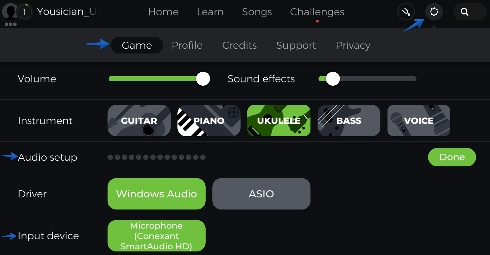 Ukulele Sound Recognition Issues Yousician Support
